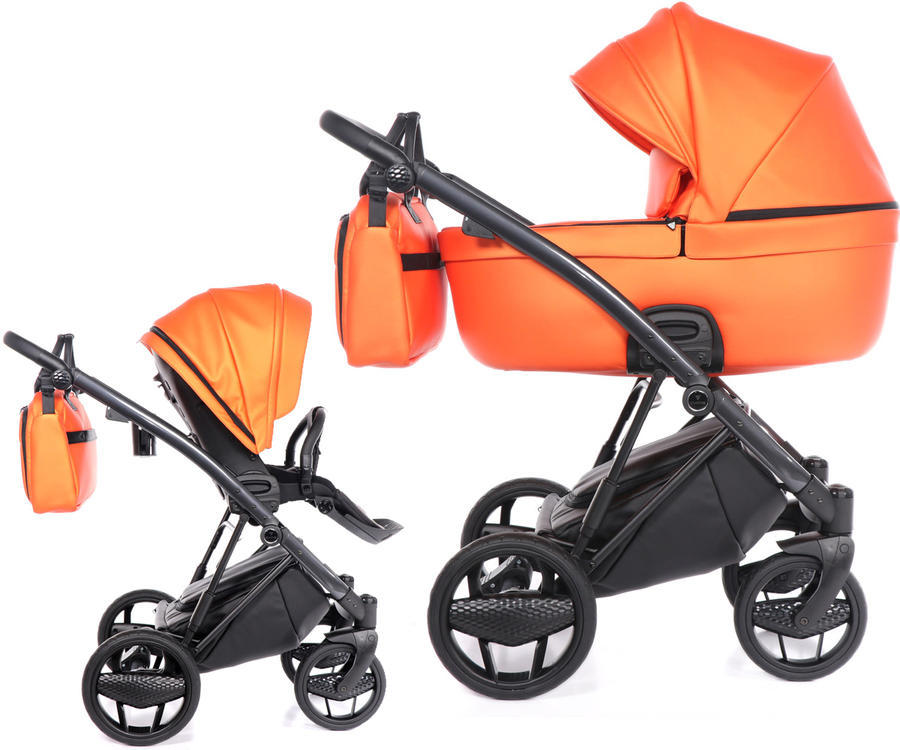 Kočárek INVICTUS 2.0 2020, 09 METALLIC ORANGE